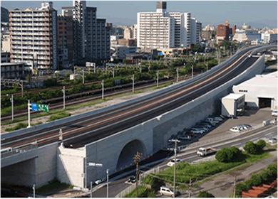 福岡3号 東田地区改良(3工区)工事