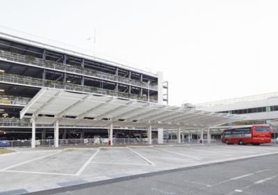 福岡空港道路駐車場(バスプール)他1件工事 国内線