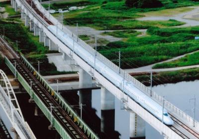 九州新幹線 矢部川橋梁