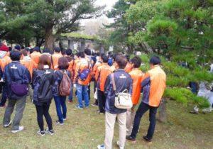 舞鶴公園清掃活動