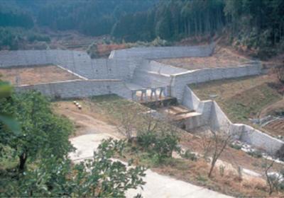 福岡県豊前土木事務所 砂防ダム