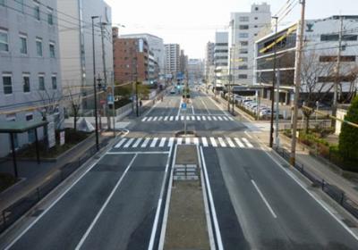 福岡3号地区東比恵(2)無電柱化4工区工事