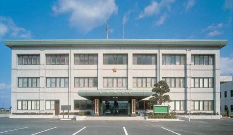 福岡県県警本部-豊前警察署庁舎