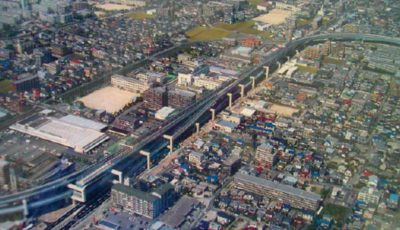 福岡都市高速道路福岡1号線石丸ランプ