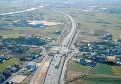 行橋バイパス今井地区