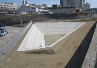 福岡外環状道路 福大トンネル排水池築造工事