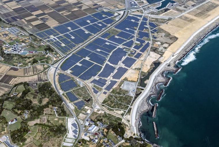 相馬市磯部地区太陽光発電所建設工事