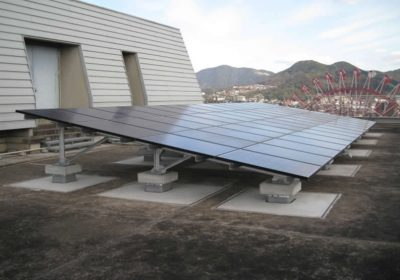 九州電力(株)北九州支店太陽光発電設備設置